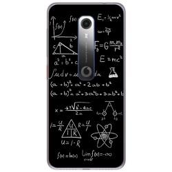 Funda Gel Tpu para Vodafone Smart N10 diseño Formulas Dibujos