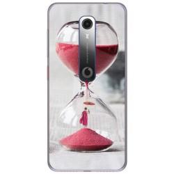 Funda Gel Tpu para Vodafone Smart N10 diseño Reloj Dibujos
