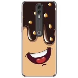 Funda Gel Tpu para Vodafone Smart V10 diseño Helado Chocolate Dibujos