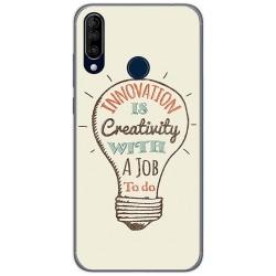 Funda Gel Tpu para Wiko View3 diseño Creativity Dibujos