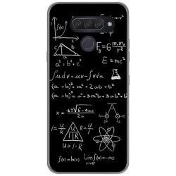 Funda Gel Tpu para Lg Q60 / K50 diseño Formulas Dibujos