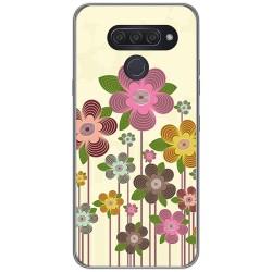 Funda Gel Tpu para Lg Q60 / K50 diseño Primavera En Flor Dibujos
