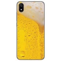 Funda Gel Tpu para Xiaomi Redmi 7A diseño Cerveza Dibujos
