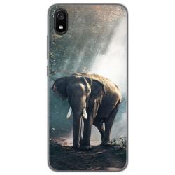 Funda Gel Tpu para Xiaomi Redmi 7A diseño Elefante Dibujos