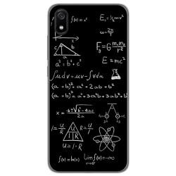 Funda Gel Tpu para Xiaomi Redmi 7A diseño Formulas Dibujos