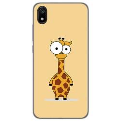 Funda Gel Tpu para Xiaomi Redmi 7A diseño Jirafa Dibujos