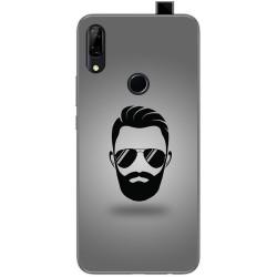 Funda Gel Tpu para Huawei P Smart Z diseño Barba Dibujos