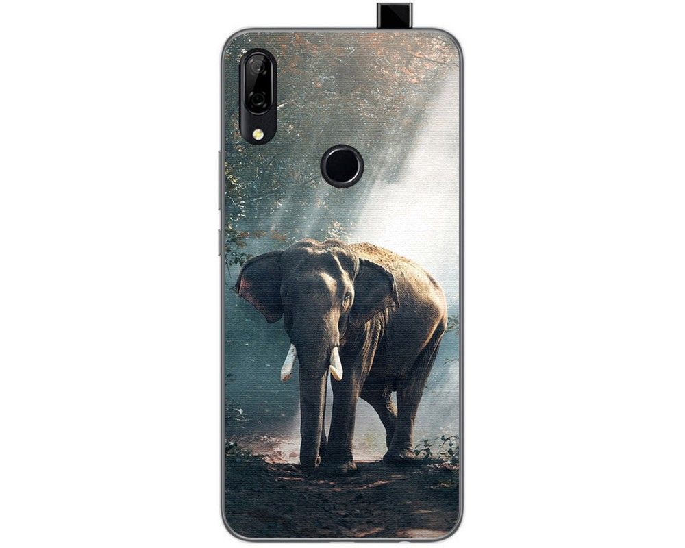 Funda Gel Tpu para Huawei P Smart Z diseño Elefante Dibujos