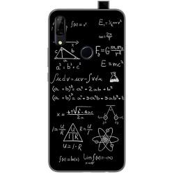 Funda Gel Tpu para Huawei P Smart Z diseño Formulas Dibujos