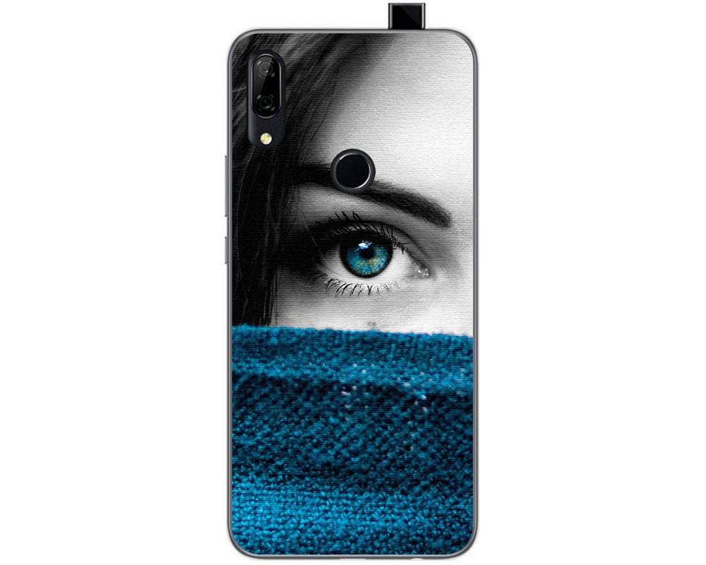 Funda Gel Tpu para Huawei P Smart Z diseño Ojo Dibujos