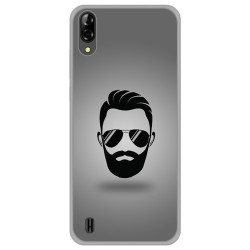 Funda Gel Tpu para Blackview A60 diseño Barba Dibujos