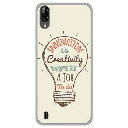 Funda Gel Tpu para Blackview A60 diseño Creativity Dibujos