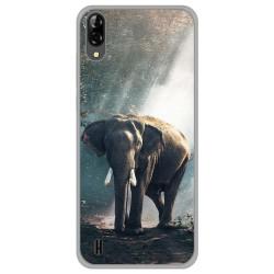 Funda Gel Tpu para Blackview A60 diseño Elefante Dibujos
