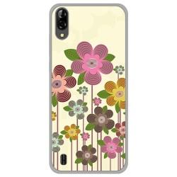 Funda Gel Tpu para Blackview A60 diseño Primavera En Flor Dibujos