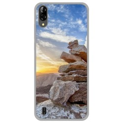 Funda Gel Tpu para Blackview A60 diseño Sunset Dibujos