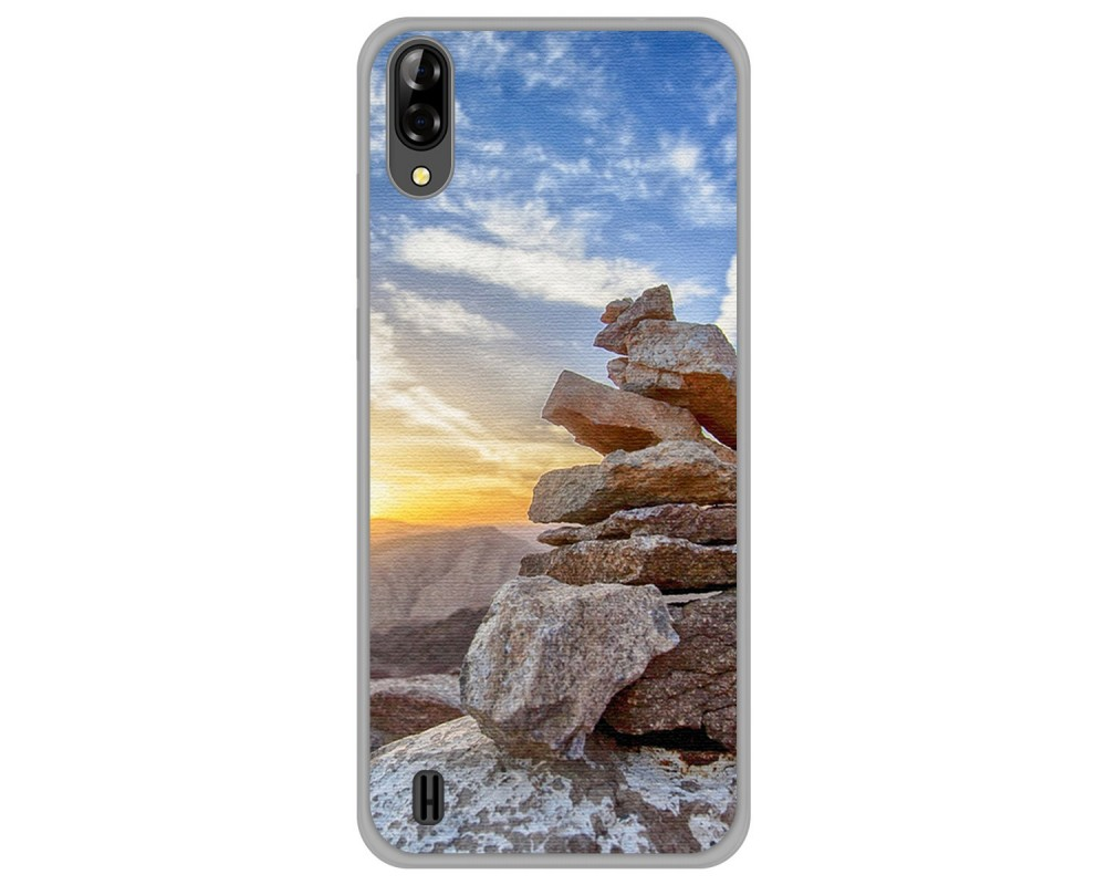 Funda Gel Tpu Silicona dibujo Sunset Blackview A60 / A60 Pro |Envio Gratis