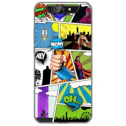 Funda Gel Tpu para Blackview BV5500 / BV5500 Pro diseño Comic Dibujos