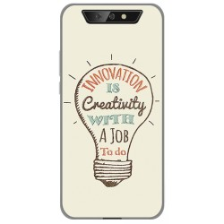 Funda Gel Tpu para Blackview BV5500 / BV5500 Pro diseño Creativity Dibujos