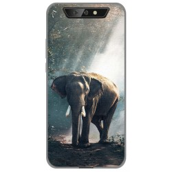 Funda Gel Tpu para Blackview BV5500 / BV5500 Pro diseño Elefante Dibujos