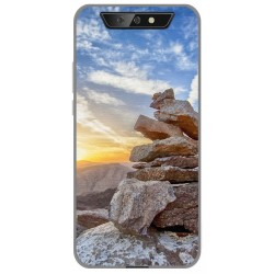 Funda Gel Tpu para Blackview BV5500 / BV5500 Pro diseño Sunset Dibujos