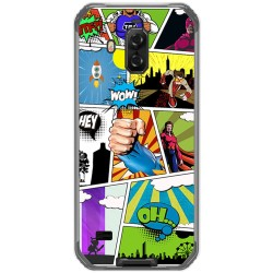 Funda Gel Tpu para Blackview Bv9600 Pro diseño Comic Dibujos