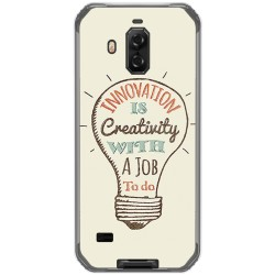 Funda Gel Tpu para Blackview Bv9600 Pro diseño Creativity Dibujos