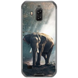 Funda Gel Tpu para Blackview Bv9600 Pro diseño Elefante Dibujos