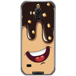 Funda Gel Tpu para Blackview Bv9600 Pro diseño Helado Chocolate Dibujos