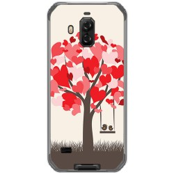 Funda Gel Tpu para Blackview Bv9600 Pro diseño Pajaritos Dibujos