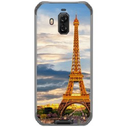 Funda Gel Tpu para Blackview Bv9600 Pro diseño Paris Dibujos