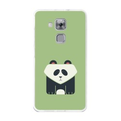 Funda Gel Tpu para Huawei Nova Plus Diseño Panda Dibujos