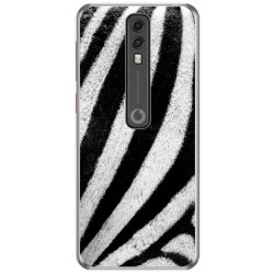 Funda Gel Tpu para Vodafone Smart V10 diseño Animal 02 Dibujos