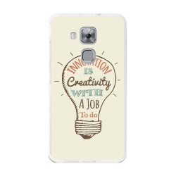 Funda Gel Tpu para Huawei Nova Plus Diseño Creativity Dibujos