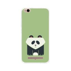 Funda Gel Tpu para Xiaomi Redmi 4A Diseño Panda Dibujos