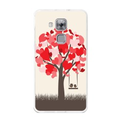 Funda Gel Tpu para Huawei Nova Plus Diseño Pajaritos Dibujos