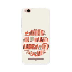 Funda Gel Tpu para Xiaomi Redmi 4A Diseño Mundo-Libro Dibujos