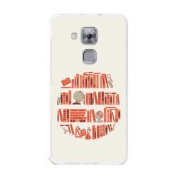 Funda Gel Tpu para Huawei Nova Plus Diseño Mundo-Libro Dibujos