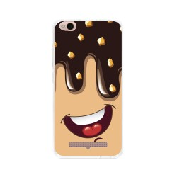 Funda Gel Tpu para Xiaomi Redmi 4A Diseño Helado Chocolate Dibujos