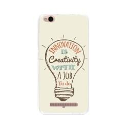 Funda Gel Tpu para Xiaomi Redmi 4A Diseño Creativity Dibujos