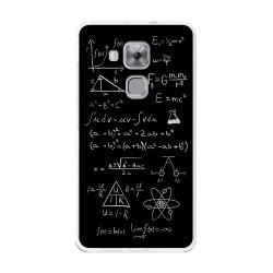Funda Gel Tpu para Huawei Nova Plus Diseño Formulas Dibujos