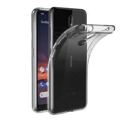 Funda Gel Tpu Fina Ultra-Thin 0,5mm Transparente para Nokia 3.2