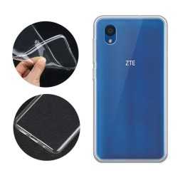 Funda Gel Tpu Fina Ultra-Thin 0,5mm Transparente para Zte Blade A3 (2019) / L8
