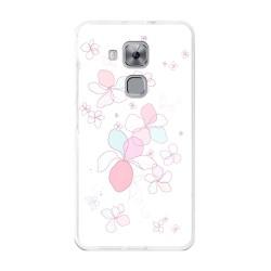 Funda Gel Tpu para Huawei Nova Plus Diseño Flores-Minimal Dibujos