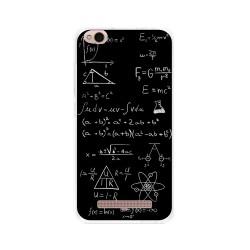 Funda Gel Tpu para Xiaomi Redmi 4A Diseño Formulas Dibujos
