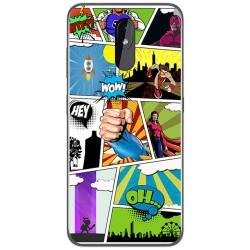 Funda Gel Tpu para Nokia 3.2 diseño Comic Dibujos