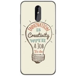Funda Gel Tpu para Nokia 3.2 diseño Creativity Dibujos