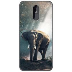 Funda Gel Tpu para Nokia 3.2 diseño Elefante Dibujos