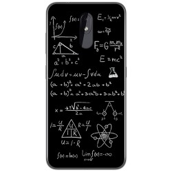 Funda Gel Tpu para Nokia 3.2 diseño Formulas Dibujos