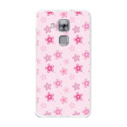 Funda Gel Tpu para Huawei Nova Plus Diseño Flores Dibujos