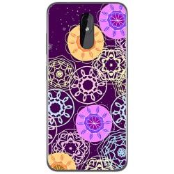 Funda Gel Tpu para Nokia 3.2 diseño Radial Dibujos